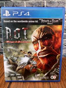 BD PS4 Attack On Titan Wings of Freedom.. game cd kaset bluray AOT
