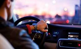 Need exp car driver with badge
