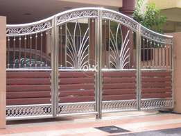 modern house gates and fences designs fabrication service