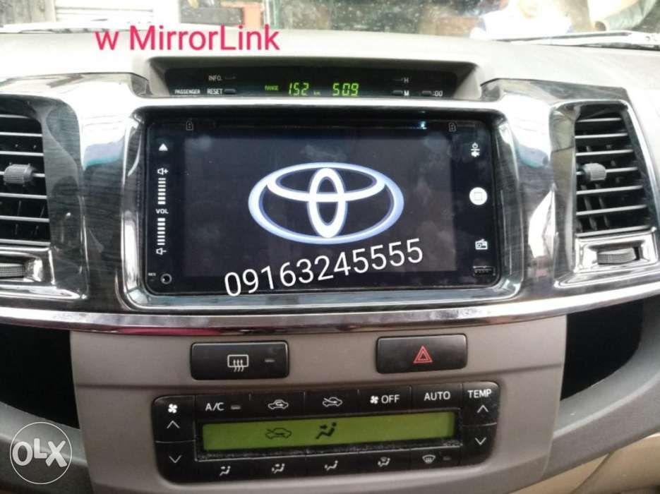Fortuner Android Head Unit Toyota Oem 2din Gps Sansui Tv Innova Rav4 In Manila  Metro Manila