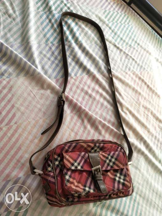 Original BURBERRY sling bag blue label from Japan in Parañaque ... 6707307dc5b83