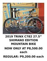 102fd6e43dd PZR8500 Trinx C782 Elite 275 Ltwoo Alloy Hydraulic Mountain Bike MTB
