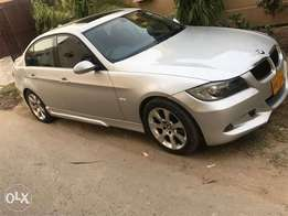 BMW 320i silver with body kit sun roof ex lent condition exchange poss