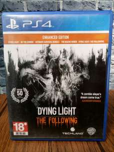 BD PS4 Dying Light The Following.. game cd kaset playstation4
