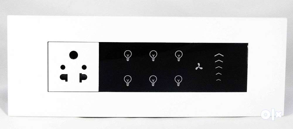 Alivio- home automation Smart switch boards Touch - Gandhidham ...