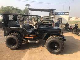 open Jeep modify power steering power brake power