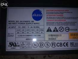 Black Gaming 460W 24pin power for sell just like new condition..