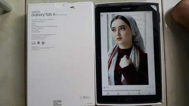 Samsung Tab A with S Pen RAM 3G, Game, Drawing Mantap, Lengkap
