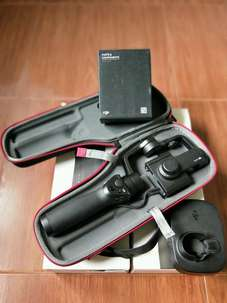 Murah Meriah Gimbal Stabilizer dji OSMO MOBILE Black Full Set