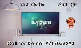 """Samsung Panel 55"""" 4K Android Led Tv with 1yr Complete warranty"""
