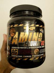 Amino Kunyah PHP Amino Growth 500 Tablet Rasa Coklat.