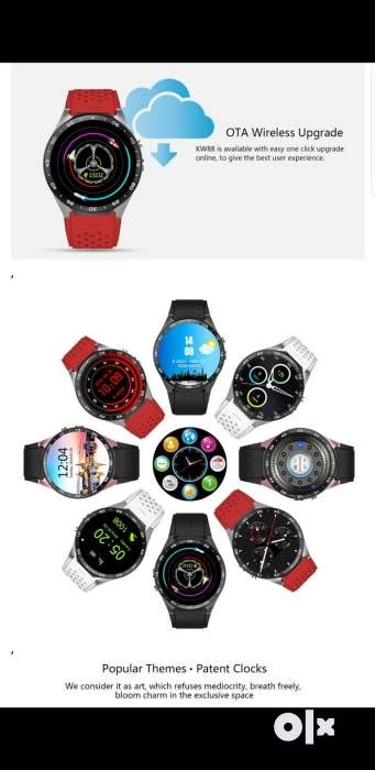 Kingwear Kw88 Smart Watch More Than 100 Face Avalible And