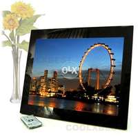 Digital Photo Frame, Big 15 inch,HD,R.Control,You Can See Movie,Audio
