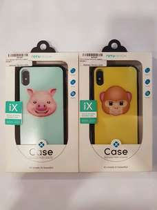 Shock Proof Case iPhone X Motif Animoji