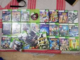 xbox 360 orignal cds (kinect cds also available)