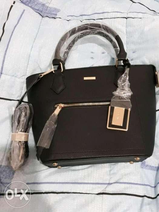 d03f38067fa Aldo black satchel bag in Mandaluyong