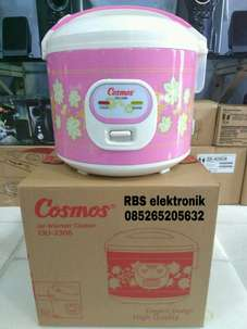 Cosmos Penanak Nasi CRJ-3306 flower pink magic com rice cooker