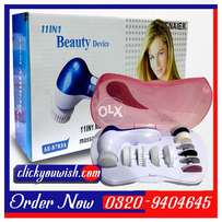 11 in 1 Multifunction Face Massager In All Pakistan