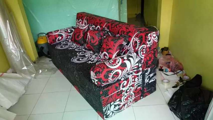 Sofa Bed Busa Inoac 200 160 20 Perlengkapan Rumah 760087116