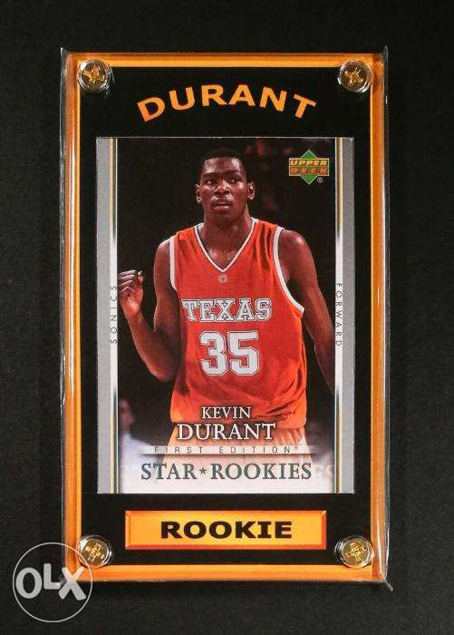 Kevin Durant Basketball Rookie Card Nba Finals Mvp In