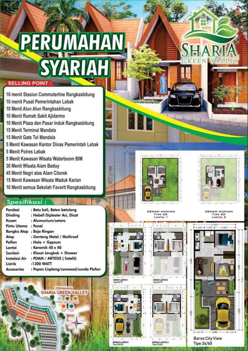 Sharia Green Villey Rangkasbitung Dijual Rumah