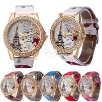 Pack of 2 Eiffel Tower Girls Watches
