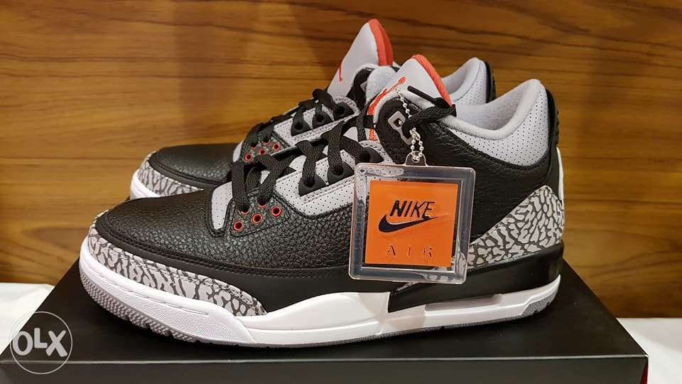 5329dd2c4df9df Jordan 3 Black Cement sz10.5 in Manila
