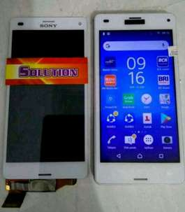 lcd+touchscreen Sony Z3 Mini / Z3 Compact White #SOLUTION