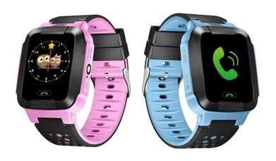 "Smart watch Anak Smartwatch Kids Jam Tangan HP 1.44"" AGPS SOS"
