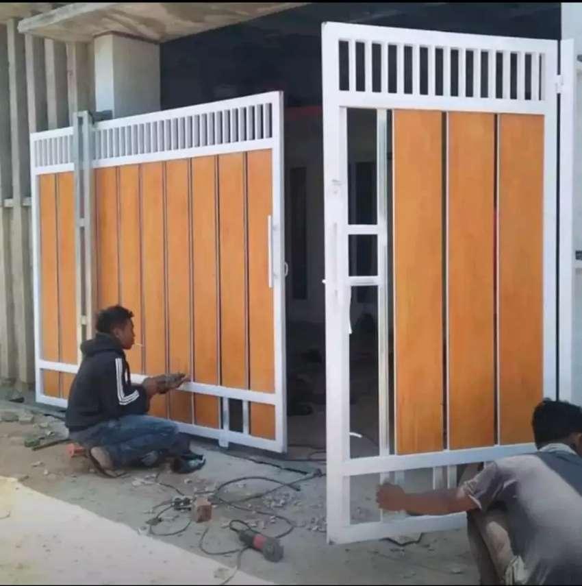 Pagar Minimalis Kombinasi Grc Konstruksi Dan Taman 782232016