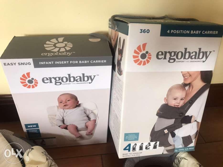 6d6b27e683a Ergo Baby Original · Authentic Ergobaby 360 Cool air mesh baby carrier.