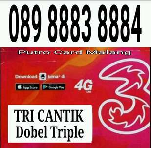 TRI 11 Digit Dobel Triple 8883-8884
