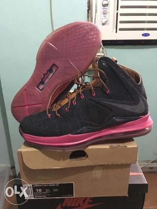 new concept 8836a b22fa Nike Lebron X (10) Ext Denim Qs