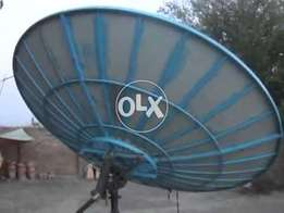 Dish tv Connection Asia Europe Africa Channels