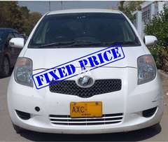 White Vitz 2006 Reg 2012. Price 900000. Excellent Condition.
