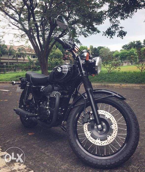 Kawasaki W800 Black Edition In Muntinlupa Metro Manila Ncr Olxph