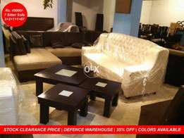 New beautiful tufted sofa set seven sitter | 7 seater | 35% off.