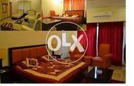 full Furnished one kanal Ground portion for rent in bahria town phse