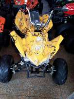 yellow sports QUAD ATV BIKE for sell deliver all over pak