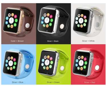 Smartwatch jam HP canggih U10 / A1 Smart Watch tlp sms kamera BARU