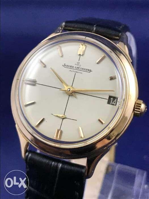 190008f21e9 Rare Vintage JaegerLeCoultre Automatic Gold Watch Rolex IWC Tudor in ...