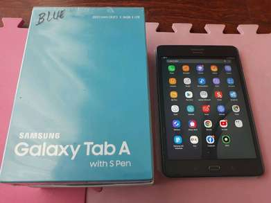 galaxy tab A with S pen normal fullset