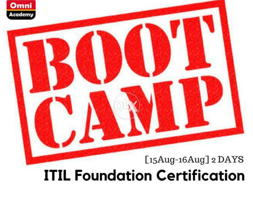 Itil Foundation Certification Bootcamp 15aug 16aug 2 Days Books