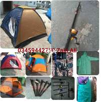 Yes I have camping Equipments