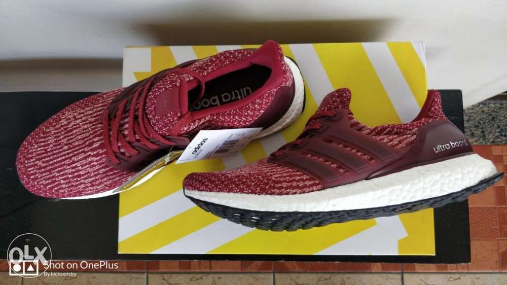 new product d070c e321a ... Adidas Ultra Boost v3 Burgundy size 8 point 5 US or 42 EUR