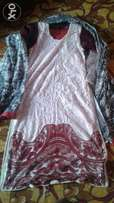 Fancy suit 3 piece frunt net back and pajama lown and duptta shaffun