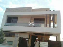 10 marla brand new house beautiful location in Bahria tawn