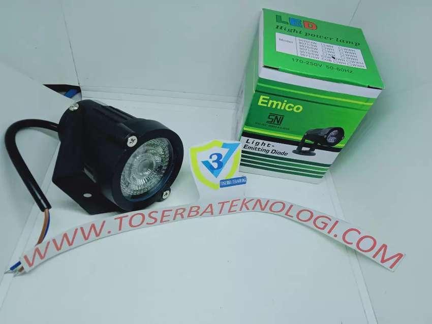 Lampu Sorot Lampu Taman Led Emico Cob Aluminium 5 Watt Warna Putih Lampu 823843309