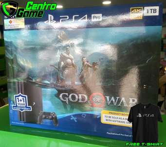 Jual Playstation 4 Pro bundle God War