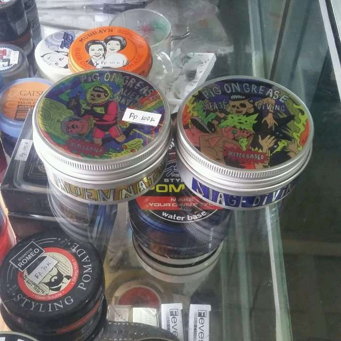 pomade pig grease water based